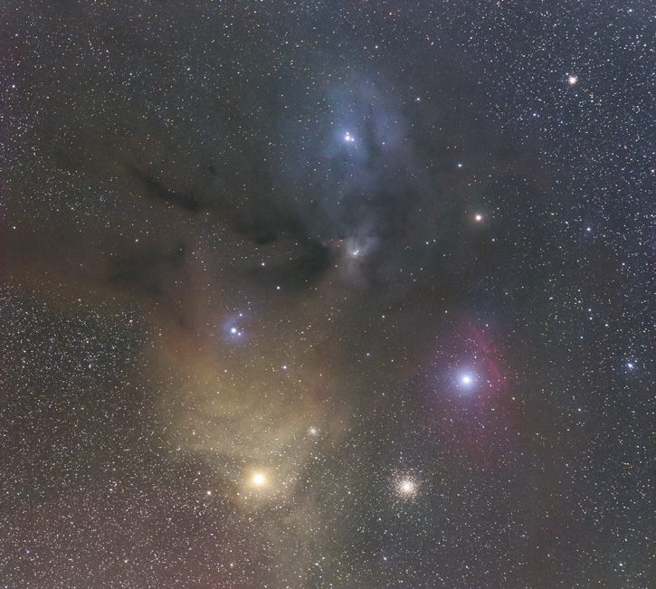 The Rho Ophiuchi Nebula
